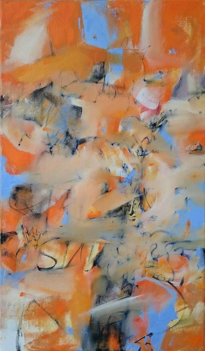 Untitled (Orange). Anthony Housman. 2018