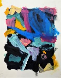 Untitled (Blue & Pink), Anthony Housman, 2021